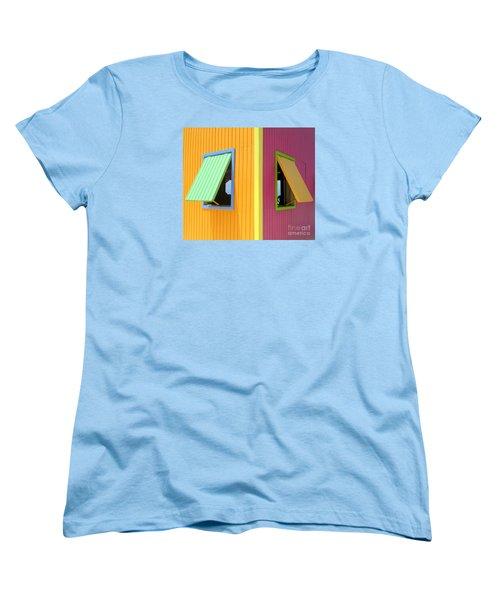 Caribbean Corner 3 Women's T-Shirt (Standard Cut) by Randall Weidner
