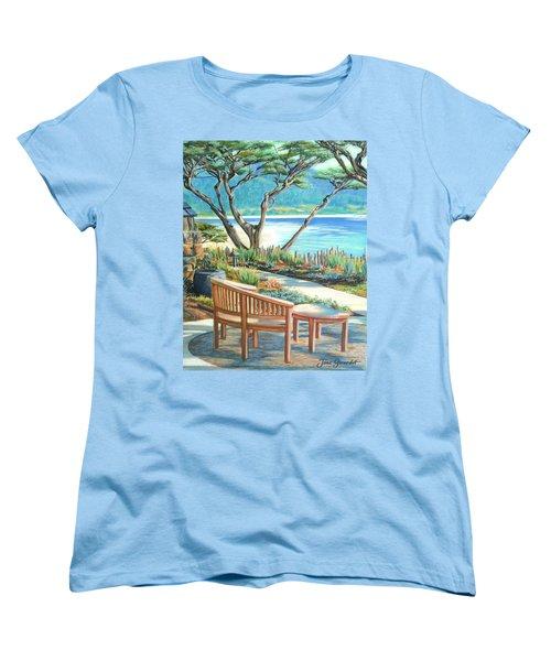Carmel Lagoon View Women's T-Shirt (Standard Cut)
