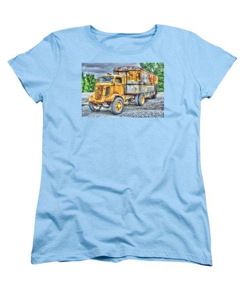 Carrier Women's T-Shirt (Standard Cut) by Dan Stone