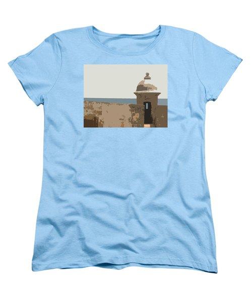 Casita Women's T-Shirt (Standard Cut) by Julio Lopez