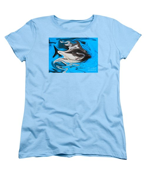 Women's T-Shirt (Standard Cut) featuring the photograph Abstract Cat Fish by Linsey Williams