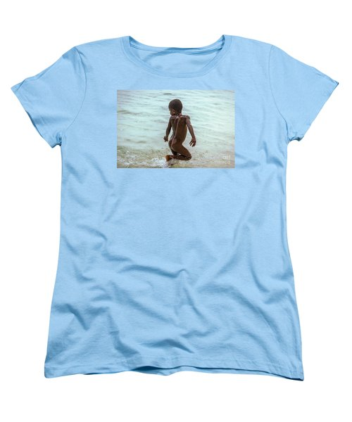 Catch Me If You Can Women's T-Shirt (Standard Cut) by Jola Martysz