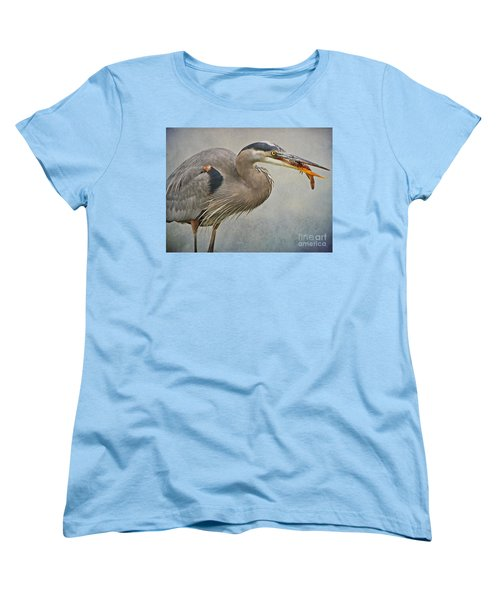 Catch Of The Day Women's T-Shirt (Standard Cut) by Heather King