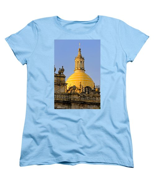 Women's T-Shirt (Standard Cut) featuring the photograph Catedral De Guadalajara by David Perry Lawrence