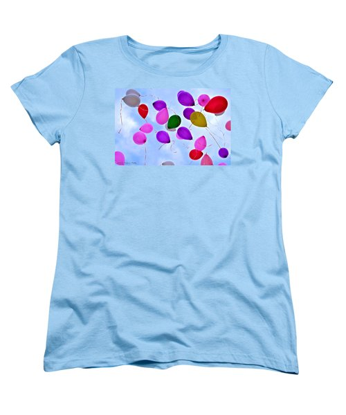 Celebrate Women's T-Shirt (Standard Cut) by Tara Potts