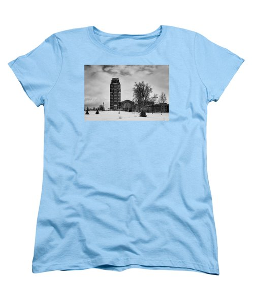 Central Terminal 4431 Women's T-Shirt (Standard Cut) by Guy Whiteley