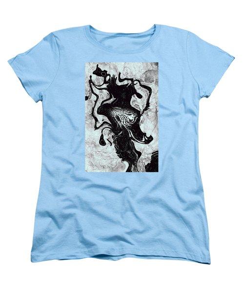 Women's T-Shirt (Standard Cut) featuring the digital art Chanteuse by Richard Thomas