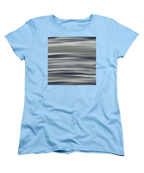 Charcoal And Blue Women's T-Shirt (Standard Cut) by Lourry Legarde