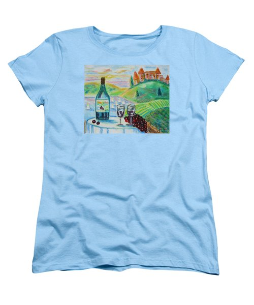 Chateau Wine Women's T-Shirt (Standard Cut)