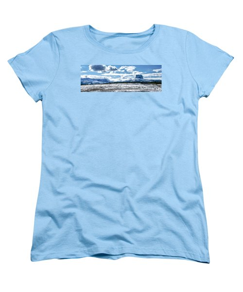 Chief Of The Mountains Women's T-Shirt (Standard Cut) by Renee Sullivan