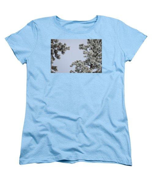 Chill Tree Women's T-Shirt (Standard Cut) by Greg Patzer