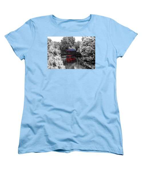 Chinese Architecture In Regent's Park Women's T-Shirt (Standard Cut) by Maj Seda
