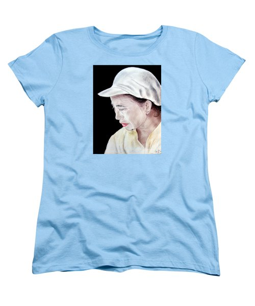 Chinese Woman With A Facial Mole Women's T-Shirt (Standard Cut) by Jim Fitzpatrick