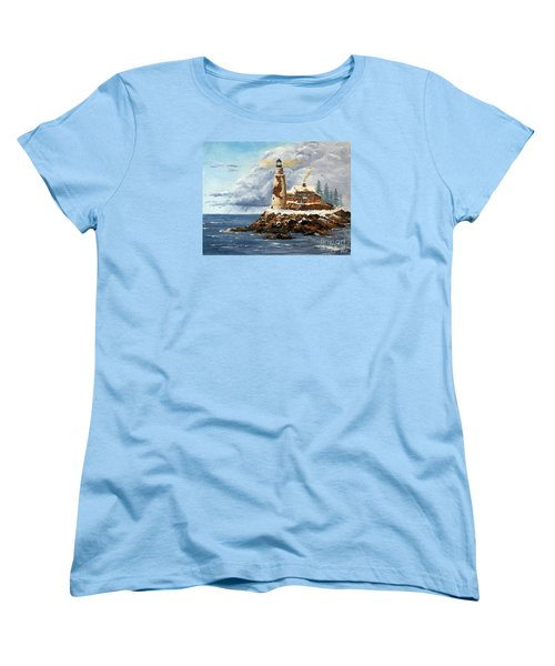 Christmas Island Women's T-Shirt (Standard Cut) by Lee Piper