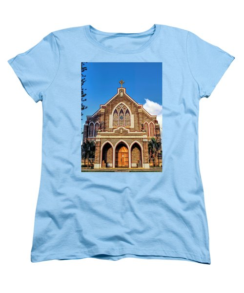 Women's T-Shirt (Standard Cut) featuring the photograph Church 1 by Dawn Eshelman