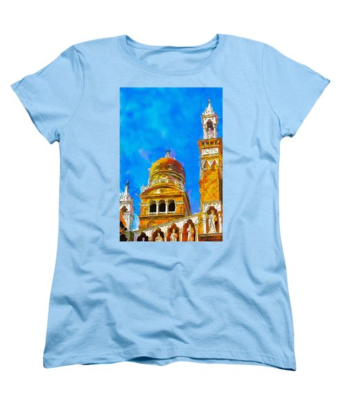 Church Of Madonna Dell'orto Women's T-Shirt (Standard Cut) by Greg Collins