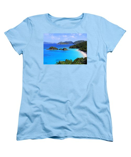 Cinnamon Bay St. John Virgin Islands Women's T-Shirt (Standard Cut)