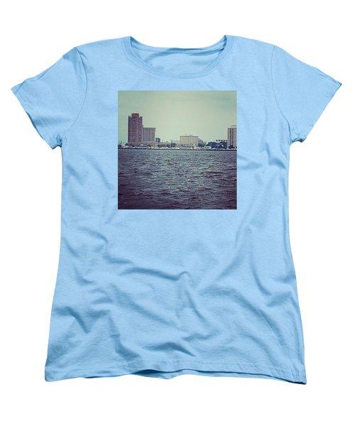 City Across The Sea Women's T-Shirt (Standard Cut) by Thomasina Durkay