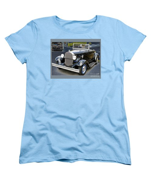 Women's T-Shirt (Standard Cut) featuring the photograph Classic Ford by Victoria Harrington