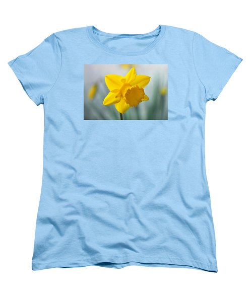 Classic Spring Daffodil Women's T-Shirt (Standard Cut) by Terence Davis