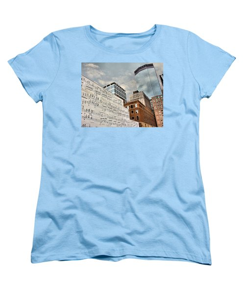 Classical Graffiti Women's T-Shirt (Standard Cut) by Kristin Elmquist