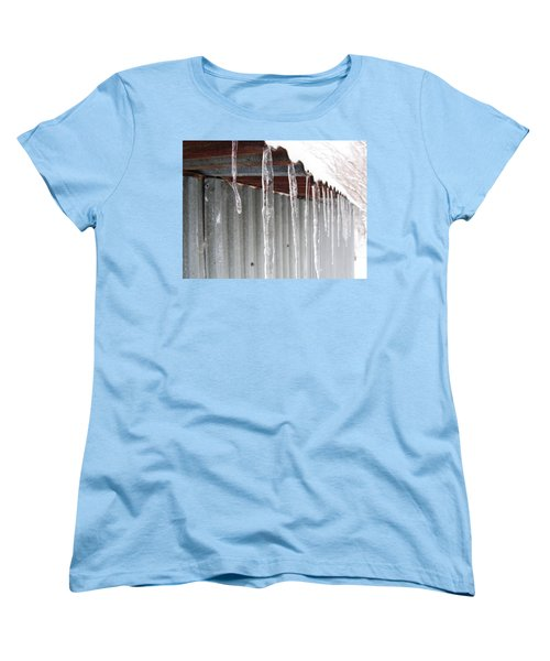 Women's T-Shirt (Standard Cut) featuring the photograph Clear As Glass by Tiffany Erdman