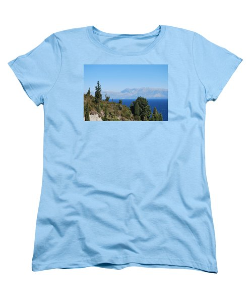 Women's T-Shirt (Standard Cut) featuring the photograph Clear Day by George Katechis