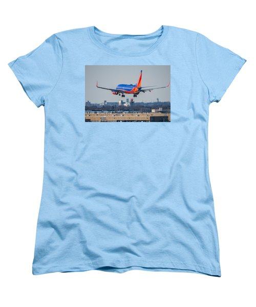Cleared For Landing Women's T-Shirt (Standard Cut) by Tom Gort