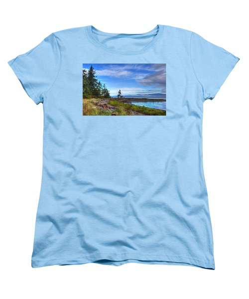 Clearing Skies Women's T-Shirt (Standard Cut) by Randy Hall