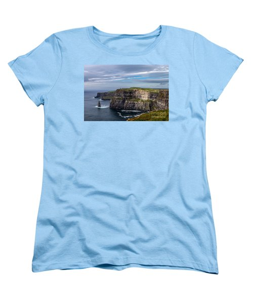 Cliffs Of Moher I Women's T-Shirt (Standard Cut) by Juergen Klust