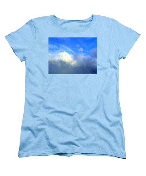 Clouds In Ireland Women's T-Shirt (Standard Cut) by Bruce Nutting