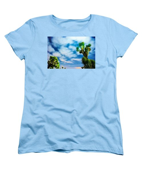 Clouds On The Move Women's T-Shirt (Standard Cut) by Angela J Wright