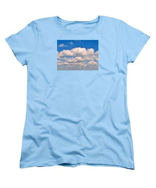 Clouds Over Lake Pontchartrain Women's T-Shirt (Standard Cut) by Deborah Lacoste