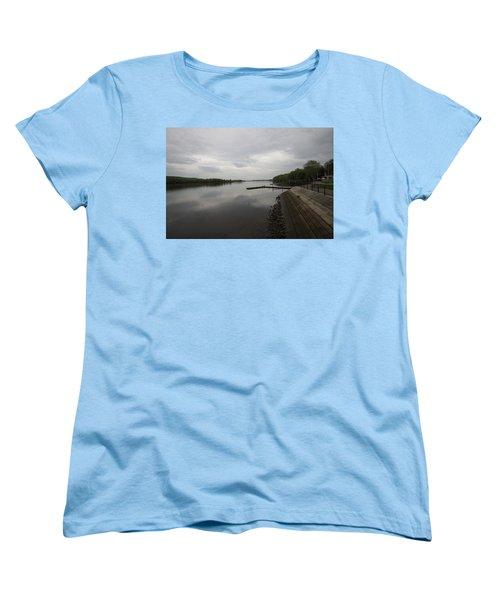 Cloudy Day Women's T-Shirt (Standard Cut) by Mustafa Abdullah