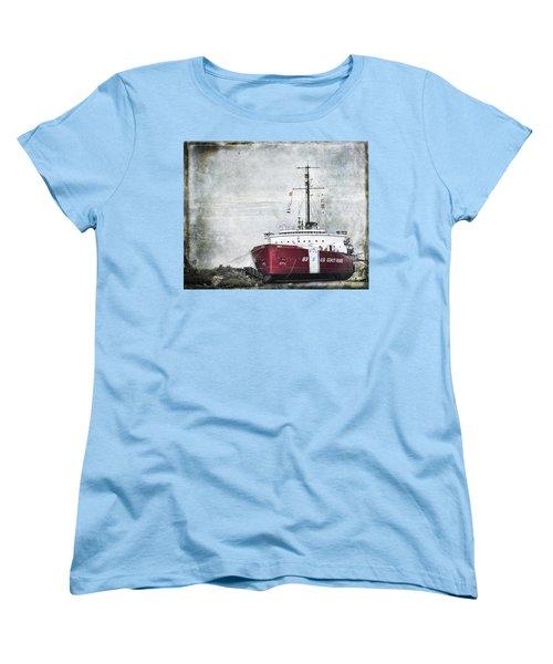 Coast Guard Women's T-Shirt (Standard Cut) by Evie Carrier