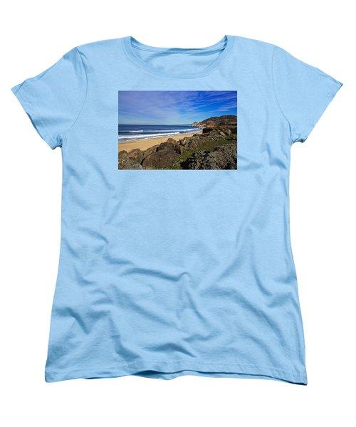 Coastal Beauty Women's T-Shirt (Standard Cut) by Dave Files