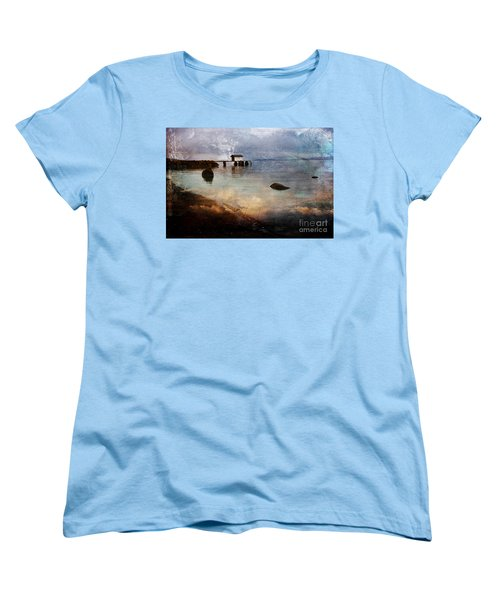 Coastal Path Women's T-Shirt (Standard Cut) by Randi Grace Nilsberg