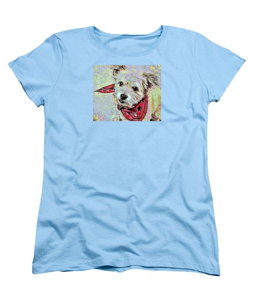 Cocoa On The Poster Women's T-Shirt (Standard Cut) by Vickie G Buccini