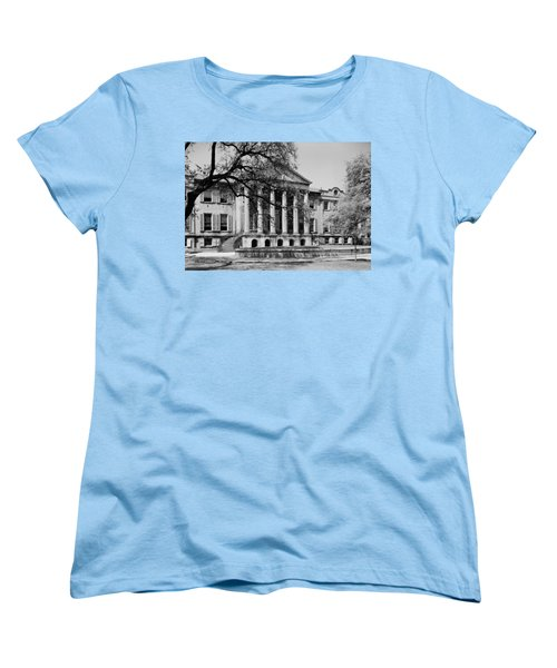 College Of Charleston Main Building 1940 Women's T-Shirt (Standard Cut) by Mountain Dreams