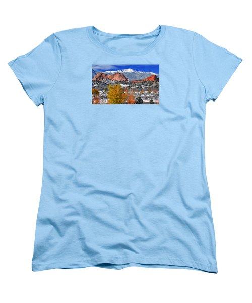 Colorful Colorado Women's T-Shirt (Standard Cut) by John Hoffman