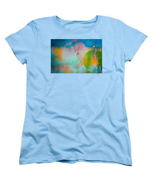 Colors Of The Wind Women's T-Shirt (Standard Cut) by Sara Frank