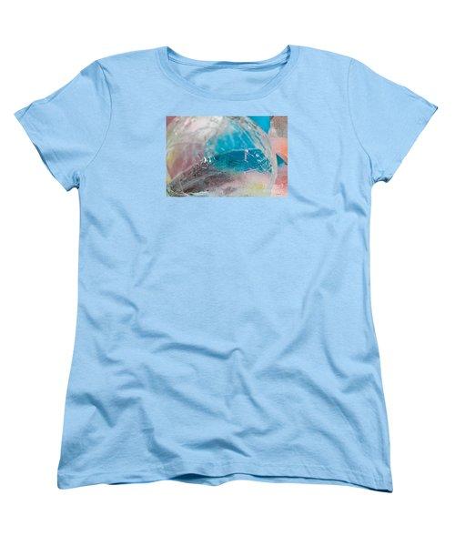 Coloured Ice Creation Print #4 Women's T-Shirt (Standard Cut) by Nina Silver