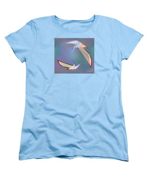 Colourful Plumage  2 Women's T-Shirt (Standard Cut) by Iris Gelbart