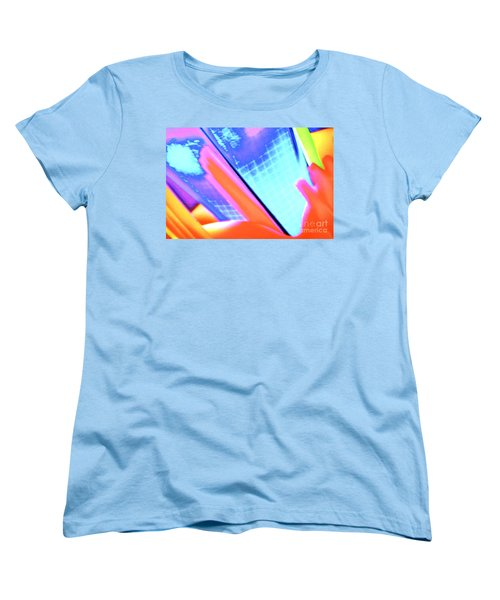 Women's T-Shirt (Standard Cut) featuring the photograph Consuming The Grid by Xn Tyler