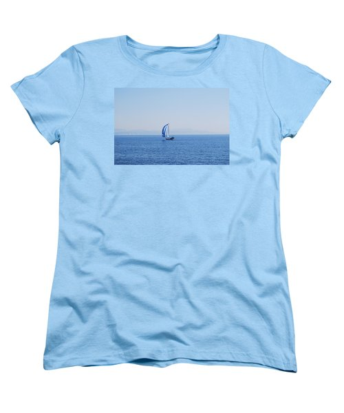 Cool Breeze Women's T-Shirt (Standard Cut) by George Katechis