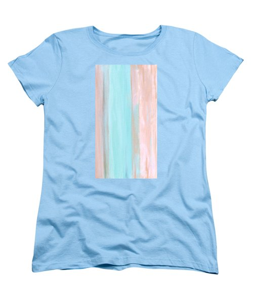 Women's T-Shirt (Standard Cut) featuring the painting Cool Jade by Stephanie Grant