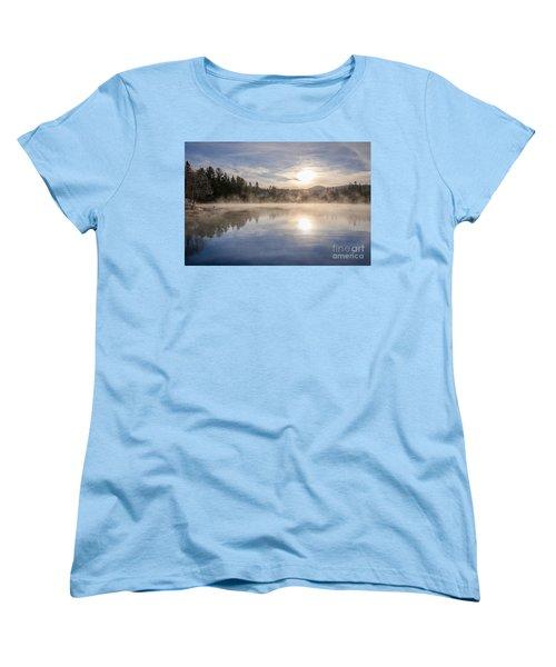 Cool November Morning Women's T-Shirt (Standard Cut) by Jola Martysz