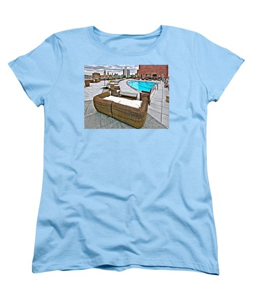 Cooper Roof Women's T-Shirt (Standard Cut) by Steve Sahm