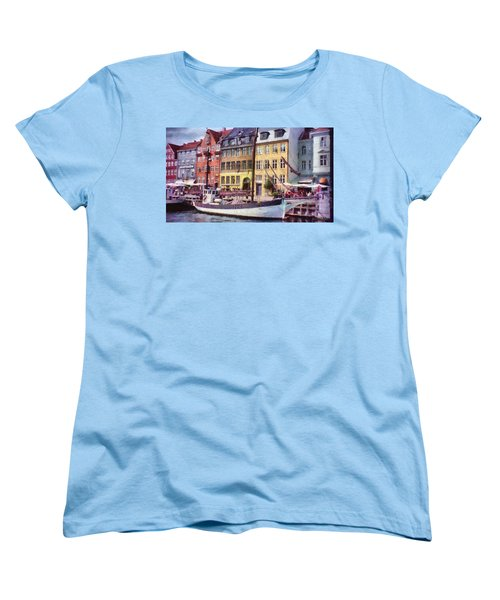 Copenhagen Women's T-Shirt (Standard Cut) by Jeff Kolker
