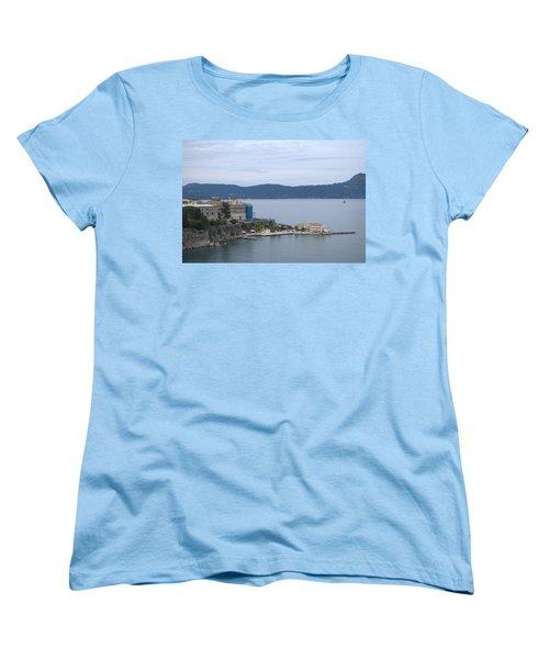 Corfu City 4 Women's T-Shirt (Standard Cut) by George Katechis
